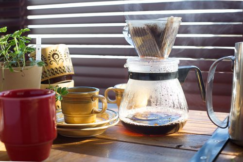 コーヒーや紅茶は、できるだけいいものを
