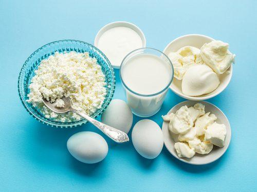 卵と乳製品
