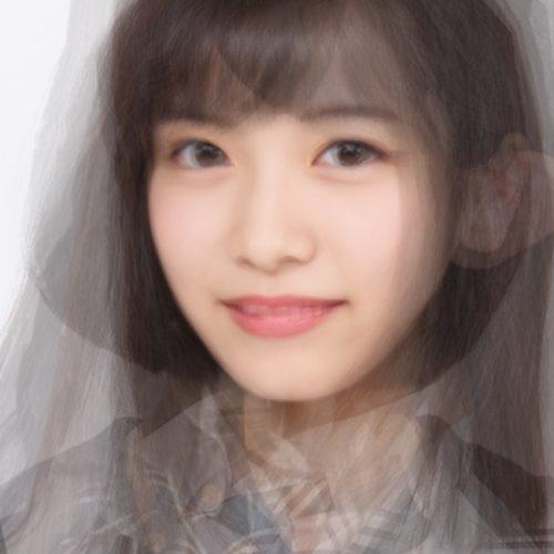 女子高生ミスコン、ファイナリスト8人の顔を混ぜあわせてできた、「平均顔」