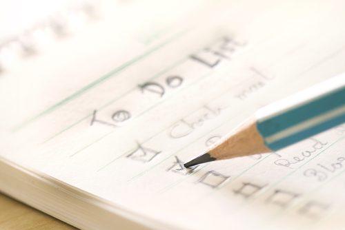 まずはすべてを紙に書き出す!