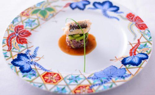 Restaurant LA KANCATOURの魚料理