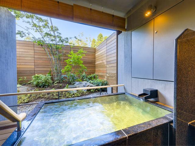 箱根・芦ノ湖 はなをり、お風呂、温泉、露天風呂、
