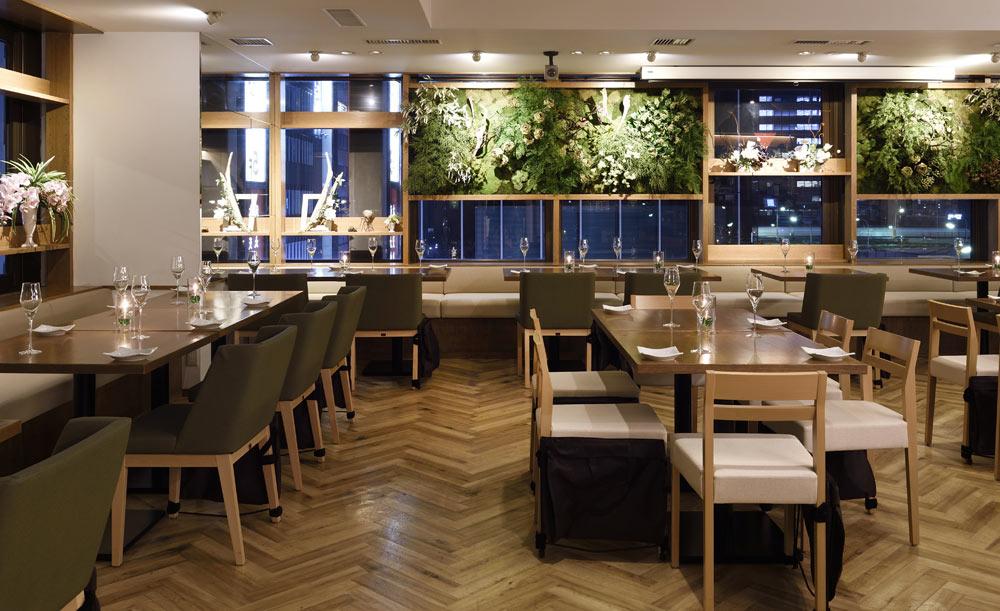 オーガニック野菜×バルkitchen kampo's、店内、レストラン