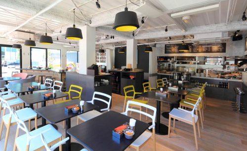 グッドモーニングカフェ&グリル虎ノ門の店内