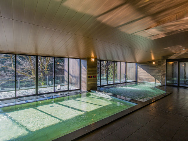 箱根小涌園 天悠、箱根、温泉、大浴場