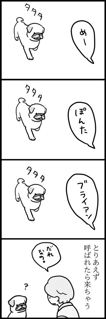 めーを描いた4コマ