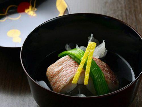 伊東遊季亭 川奈別邸の料理