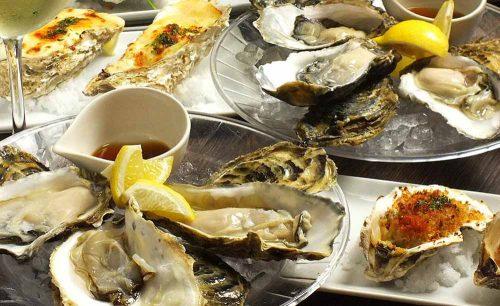 オイスターバル Kichi-joji Spiralの牡蠣
