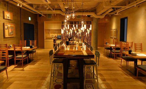 グリルド エイジング・ビーフ TOKYOの店内