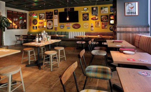 クラフトビールタップ シノワ マロニエゲート銀座1店、店内、アメリカン
