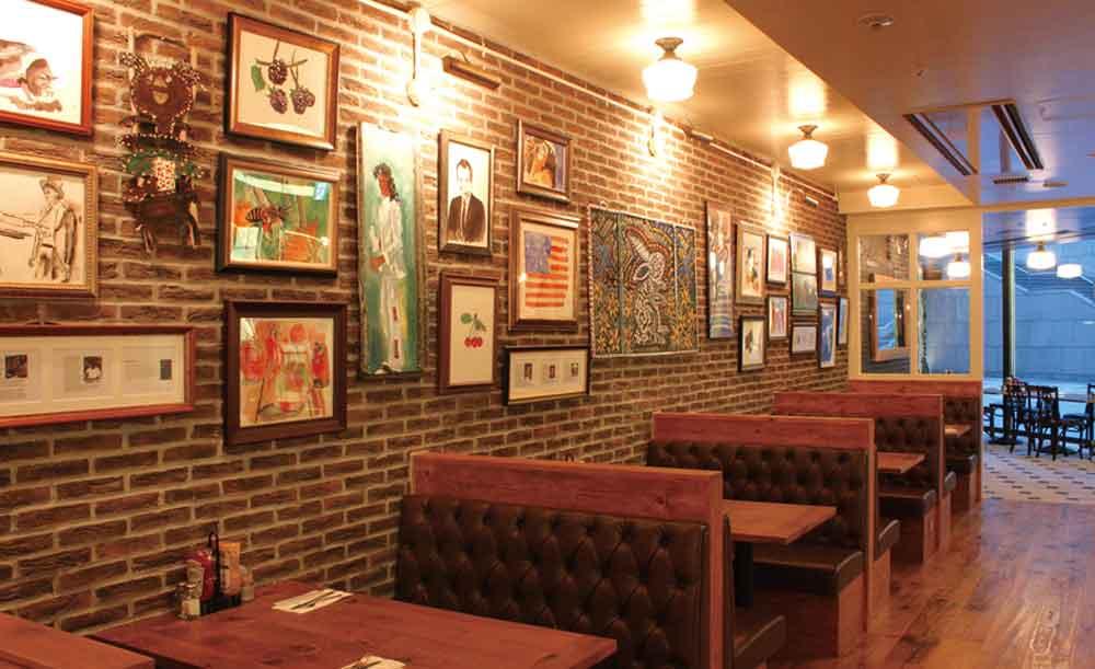 Bubby's Shiodome、レストラン、店内