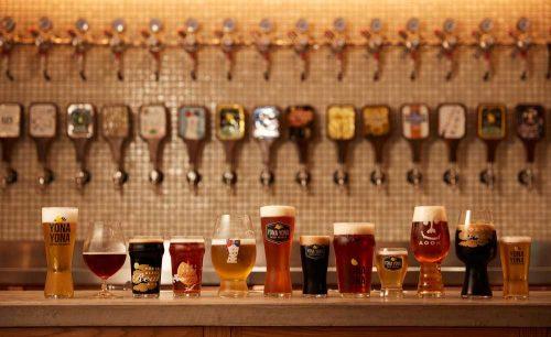 YONA YONA BEER WORKS 青山店、クラフトビール、サーバー、タップ、ビール