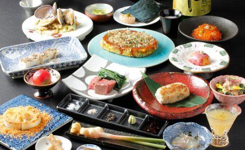 くずし鉄板 あばぐら 神田店の料理