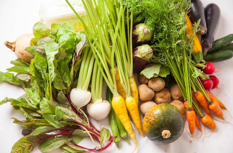 Chez TAKA HIGASHIAZABU、野菜、イメージ