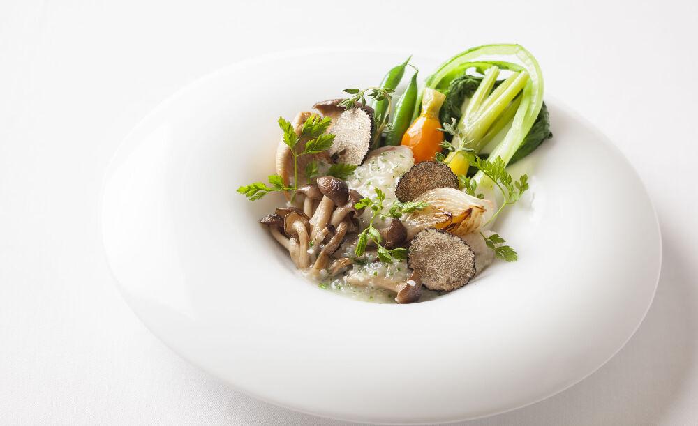 Chez TAKA HIGASHIAZABU、お料理、野菜