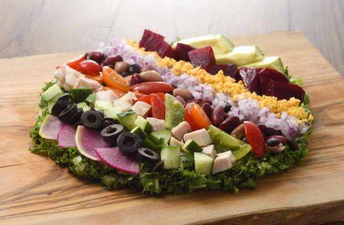 Mr.FARMER 六本木店、サラダ、料理