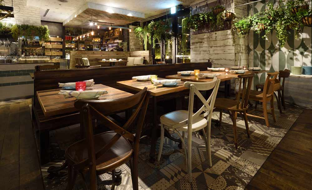 Mr.FARMER 六本木店、店内、レストラン