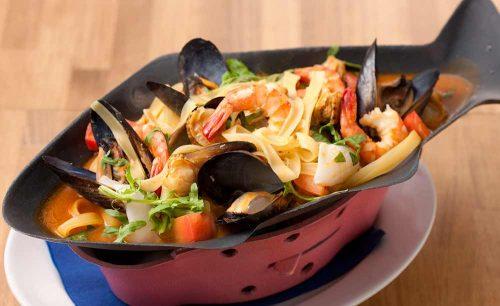 オサカナバル BLEU、魚料理、ブイヤベース