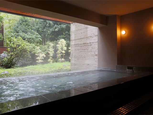 金乃竹 塔ノ澤、箱根、温泉、大浴場
