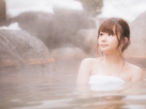 入浴中の女子