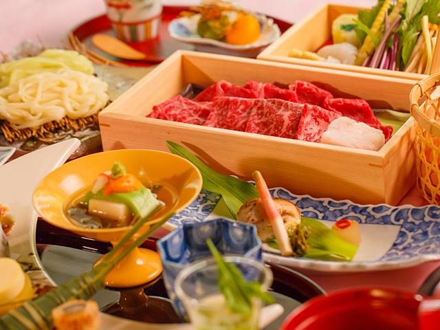 箱根湯本温泉 月の宿 紗ら、料理、食事、箱根