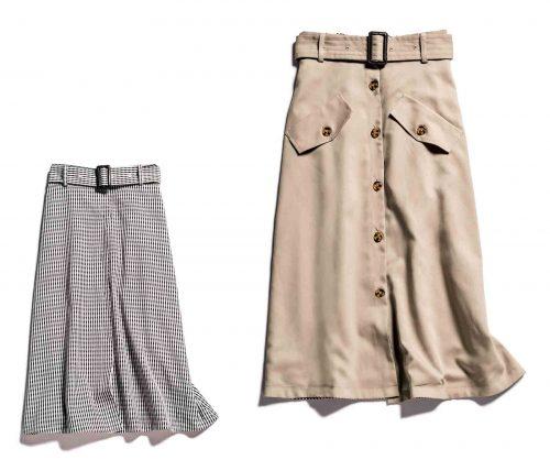丸林広奈×アンレリッシュコラボスカート