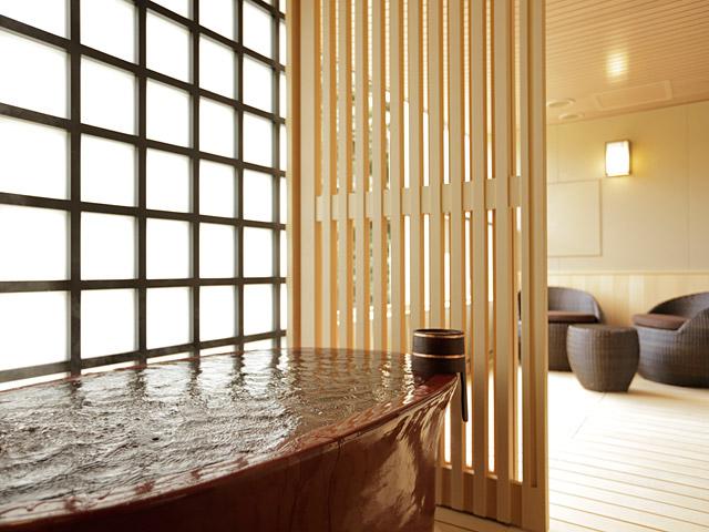 箱根湯本温泉 月の宿 紗ら、温泉、お風呂、部屋風呂、箱根