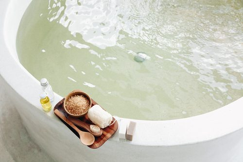 ◆お風呂につかる