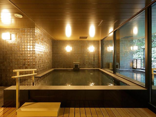 箱根湯本温泉 月の宿 紗ら、大浴場、お風呂、温泉、箱根