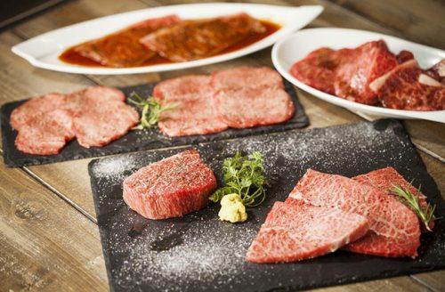 原宿焼き肉KINTAN、焼き肉、霜縁