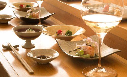 青山 鮨孝、ワイン、和食