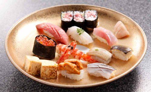 寿司 高はし、お寿司、にぎり、盛り合わせ