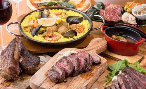 肉バル GOTTSU(ゴッツ)、料理、お肉、パエリア