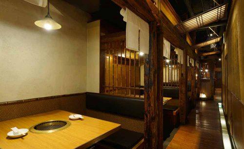 吟味焼肉 じゃんか 道玄坂、店内、渋谷