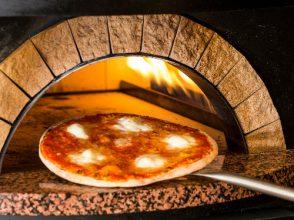神楽坂イタリアン 400 クワトロ チェント、ピザ、ピザ窯
