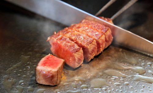 鉄板焼grow上野店、鉄板焼き、ステーキ