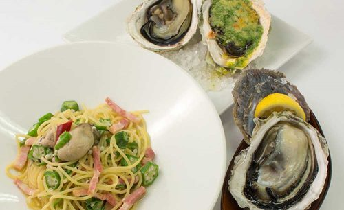 オイスターテーブル 上野さくらテラス店、牡蠣料理