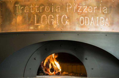 Trattoria Pizzeria LOGIC ODAIBA、ピザ窯