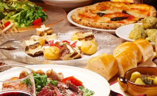 Trattoria Pizzeria LOGIC ODAIBA、ピザ