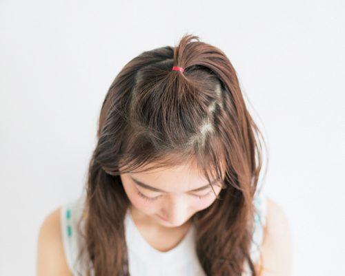 ■ゆるちょんまげ前髪
