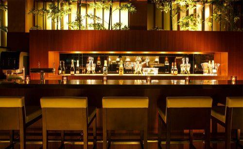 バブルズバー/ストリングスホテル東京インターコンチネンタルのバーカウンター