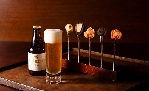 バブルズバー/ストリングスホテル東京インターコンチネンタルのビール