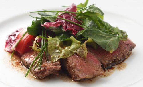 RISTORANTE L'OSTERIAのお肉料理