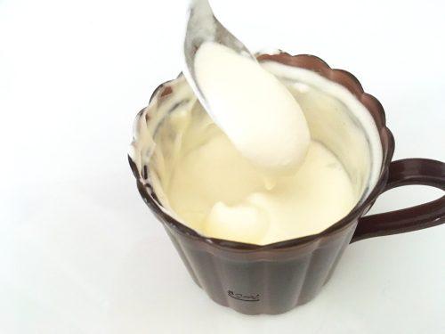 ホイップクリームが完成!