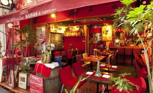 Osteria Casa Yoshida Pasta Bar、外観