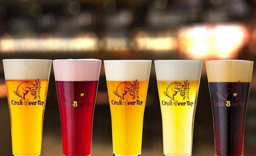 クラフトビールタップ新宿三丁目のクラフトビール