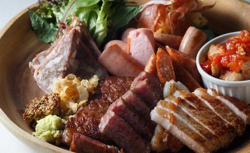 En Terrasseの肉盛り