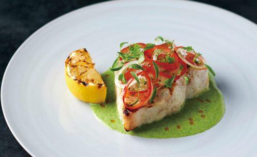 Prime42 BY NEBRASKA FARMSの魚料理