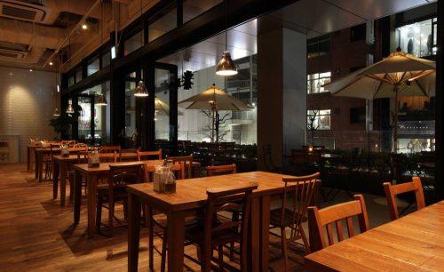 ロイヤルガーデンカフェ 渋谷店/ホテルユニゾ渋谷のテラス