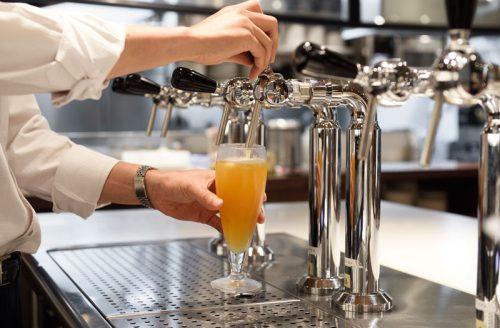 """お茶の水テラス SUPER""""DRY""""、ビール"""